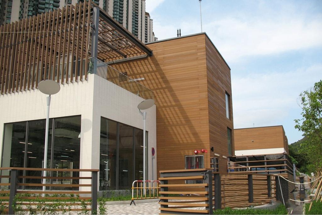 Drewniane elewacje domów - System elewacyjny Rezysta