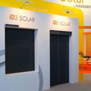 Zewnętrzne rolety solarne