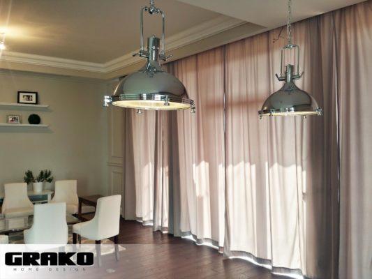 Karnisz elektryczny - realizacja u klienta w Warszawie