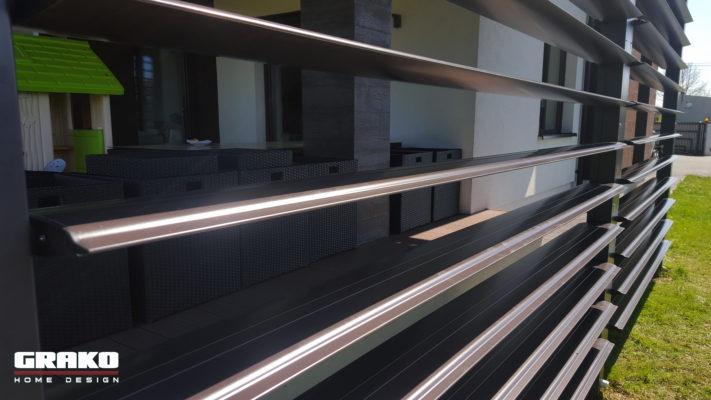 Aluminiowe lamele załamujące promienie światła - GRAKO