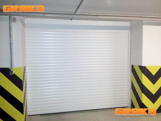 Brama garażowa rolowana Realizacja w Warszawie