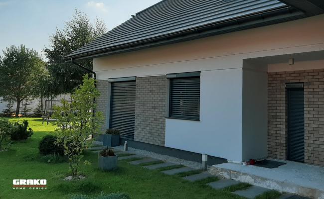 Dom z roletami Bubendorff